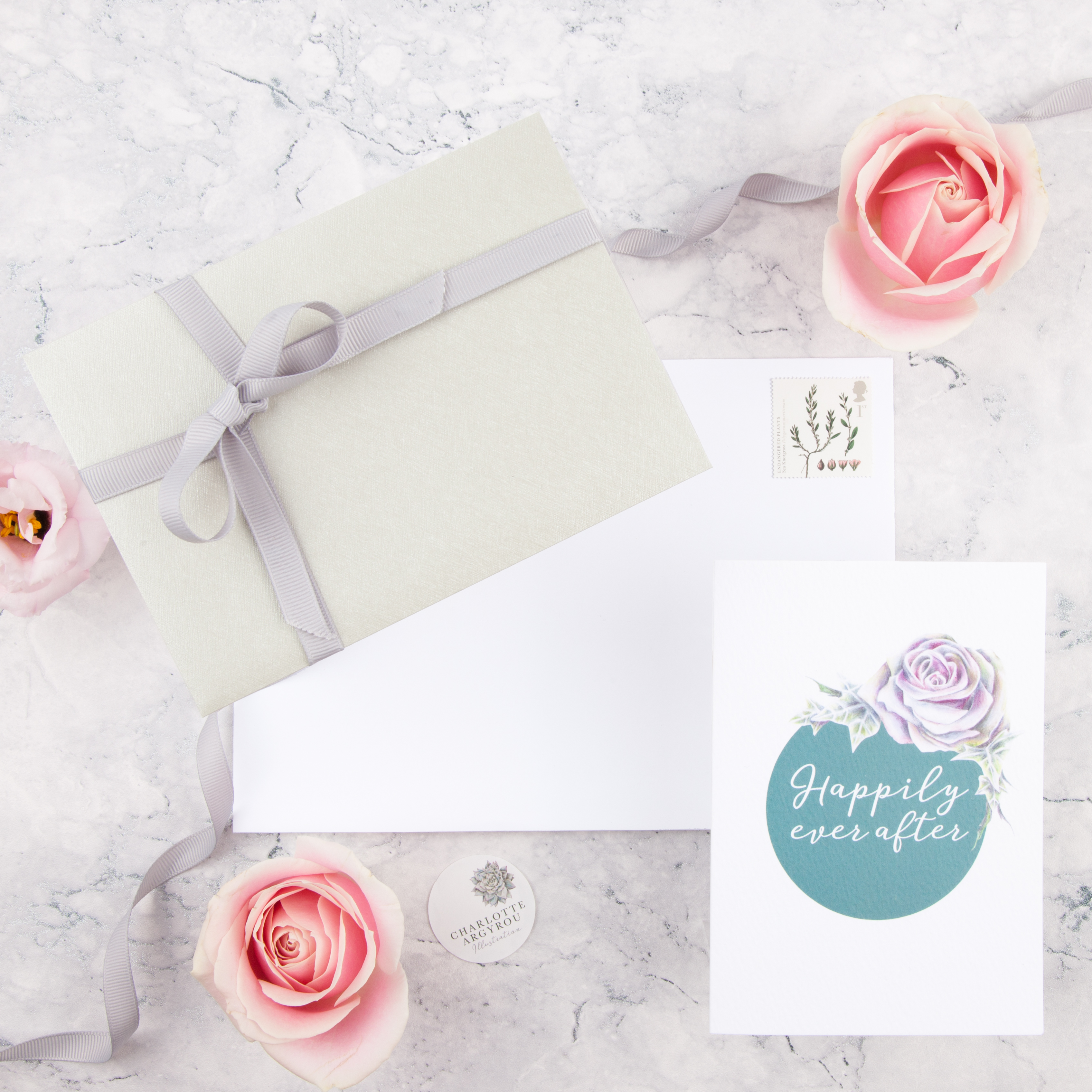Wedding Bouquet Illustration Service: Gift Giver – Charlotte Argyrou ...