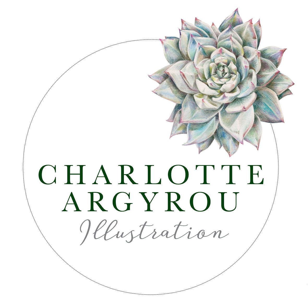 Creative business and botanical illustraor Charlotte Argyrou logo