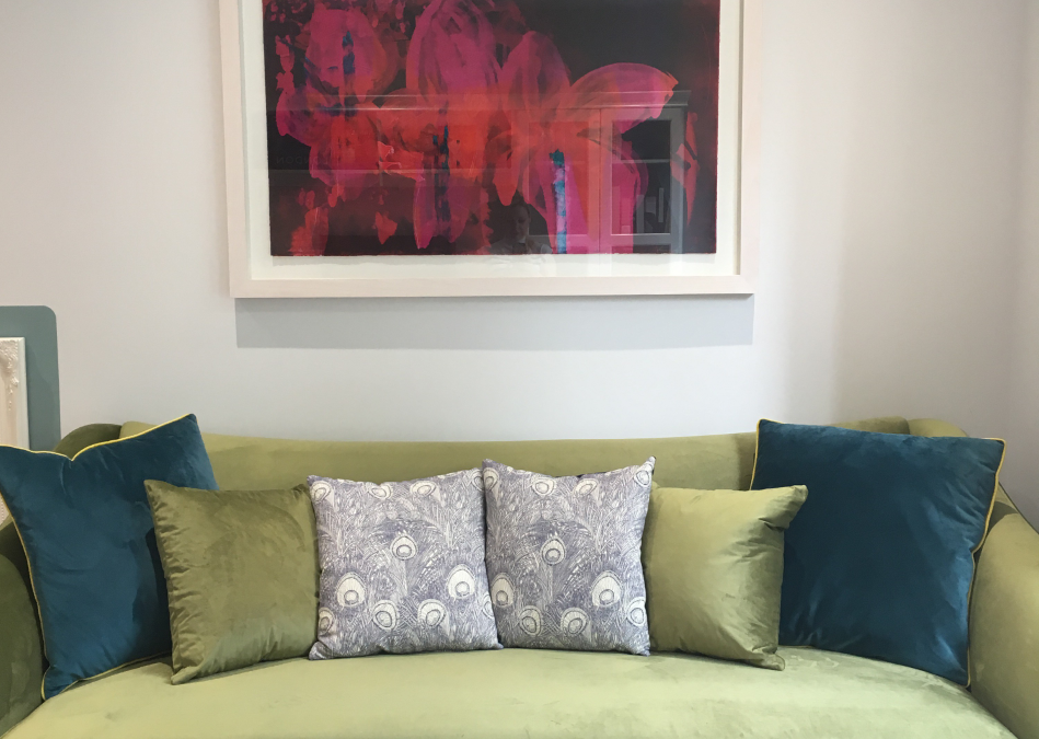 BEFORE and AFTER: How I Chose My Perfect Green Velvet Sofa and Saved Time and Money