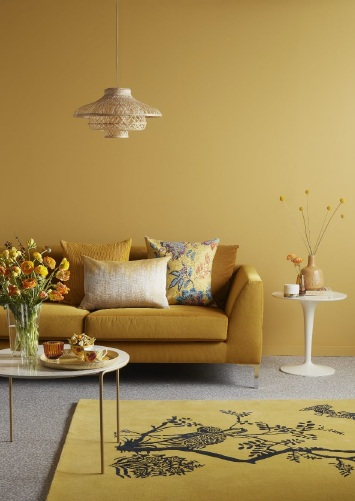 John Lewis autumn home decor image chosen by botanical artist Charlotte Argyrou, representing 2018 hygge