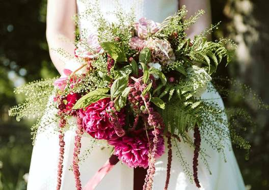 Wedding bouquet photo by Nicole Howe Photography on botanical artist Charlotte Argyrou blog