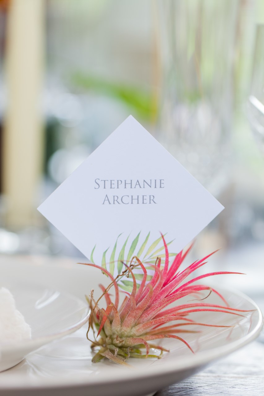 Flamboyant Invites stationery on botanical artist Charlotte Argyrou's unique botanical weddings blog post