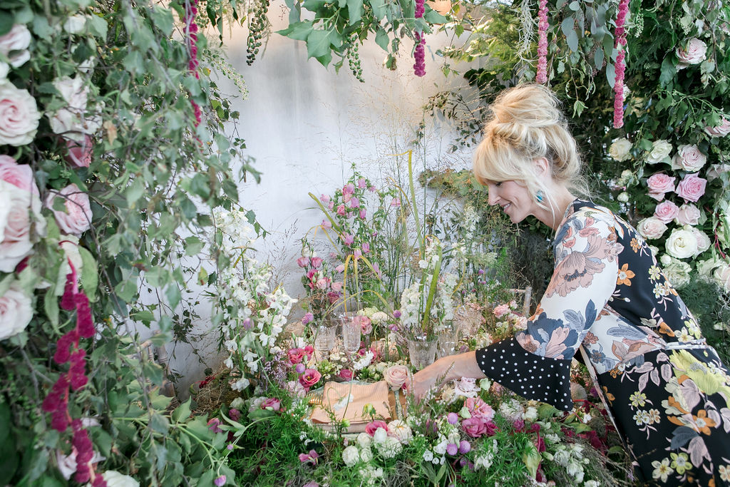 Florist Victoria Vaught on botanical illustrator Charlotte Argyrou's blog