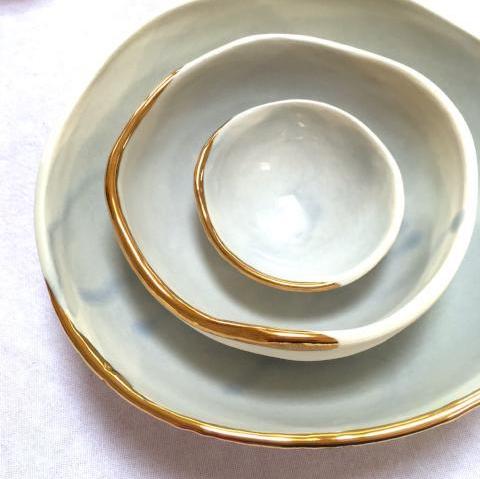 House of \Kind bowl on botanical artist Charlotte Argyrou blog
