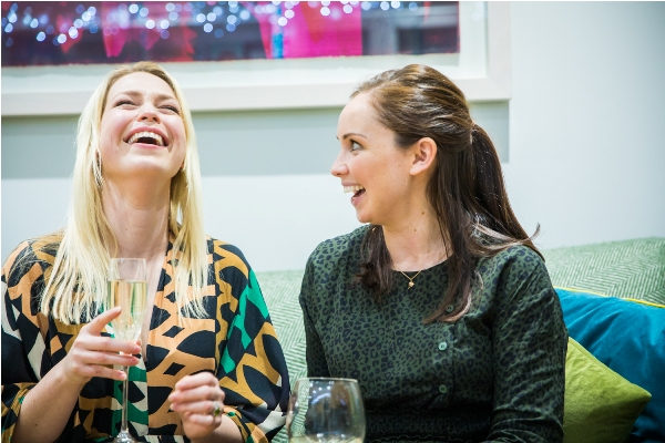 Charlotte Argyrou and Vicky Shilling, hosts of Creative in Residence Supper Club
