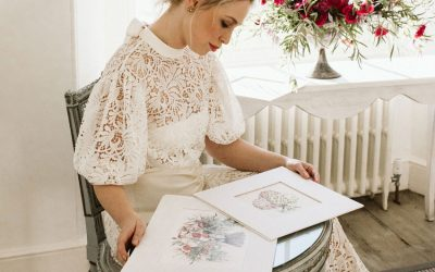 How Does the Wedding Bouquet Illustration Service work?