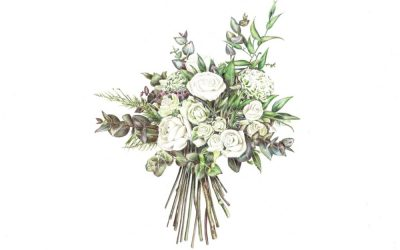 5 Reasons a Bouquet Illustration Makes a Perfect One Year Anniversary Gift
