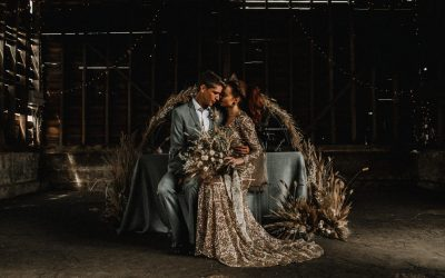 Let the Light Out: Dried Flowers Wedding Inspiration