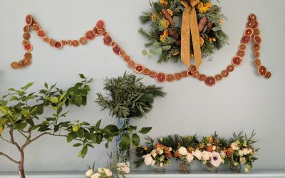 Creative Living Blog: How to Make a Dried Citrus Garland