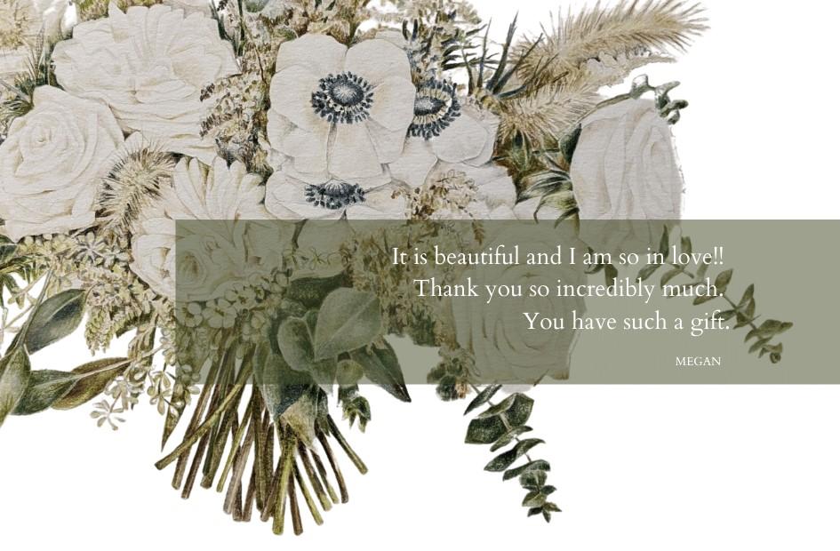 award winning botanical illustrator testimonial