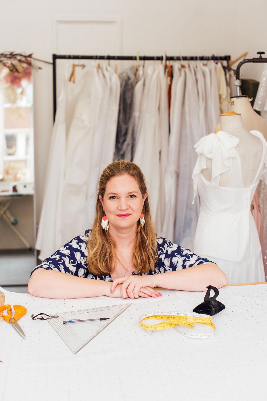 modern vintage style designer Rose Savage on Charlotte Argyrou blog